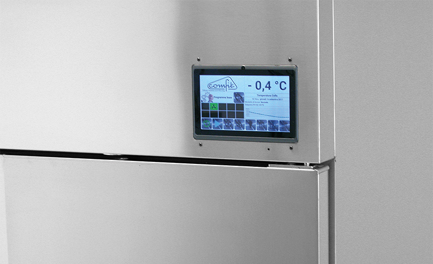 C-Freezer - Testata e Touch Screen